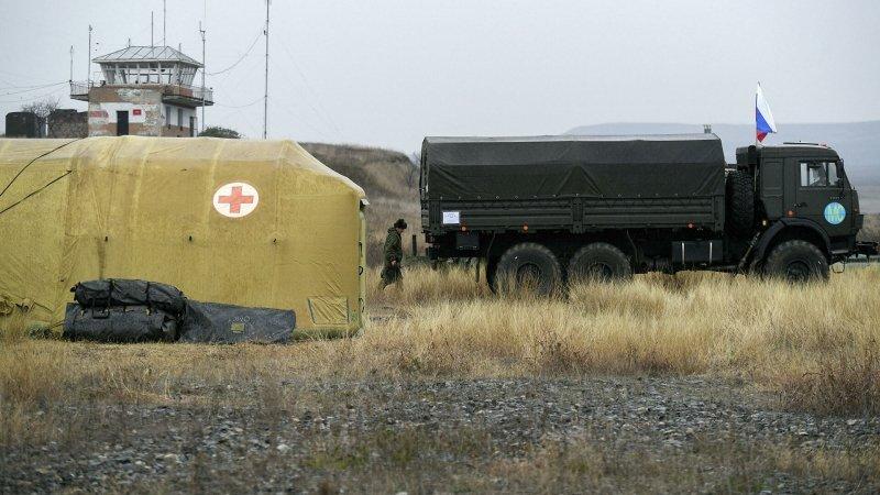 Конфликт в Карабахе выходит из горячей фазы, заявил Лавров